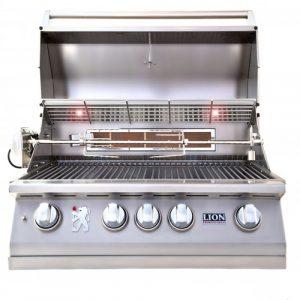 32″ 4-Burner Gas Grill – L75000
