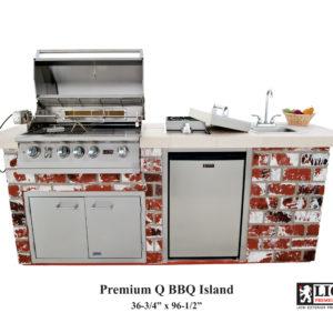 Premium Q BBQ Island