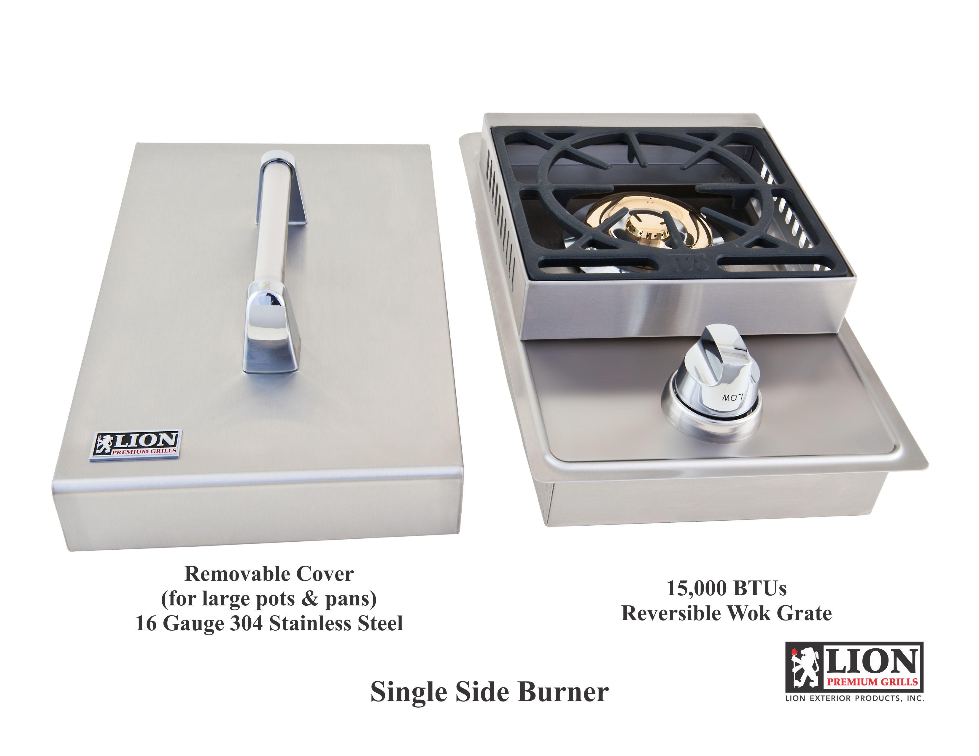 Single Side Burner Lion Bbq Direct