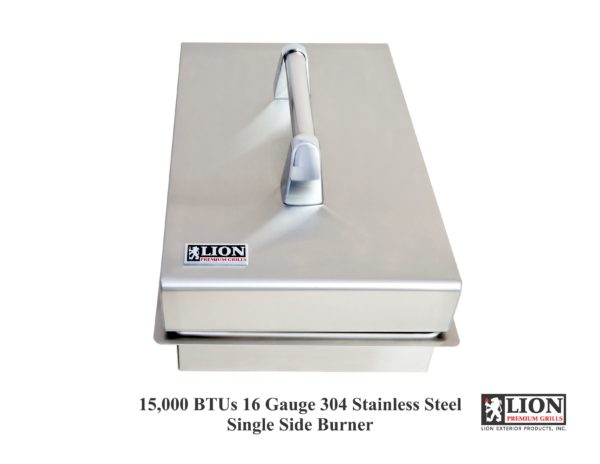 Lion Grills Single Side Burner