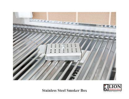 Lion Smoker Box