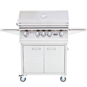 32″ 4-Burner Gas Grill on Cart – L75000