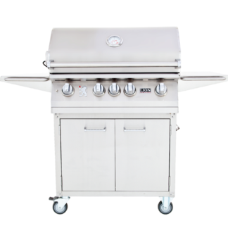 Lion BBQ L75000 32 Inch Grill Cart with Double Doors