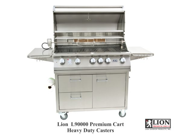 Lion Grills L90000 40 Inch BBQ Gas Grill on Cart