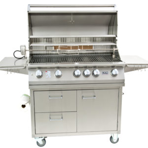 40″ 5-Burner Gas Grill on Cart – L90000