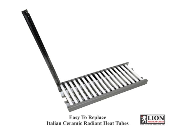 Lion BBQ Easy to Replace Italian Ceramic Radiant Heat Tubes