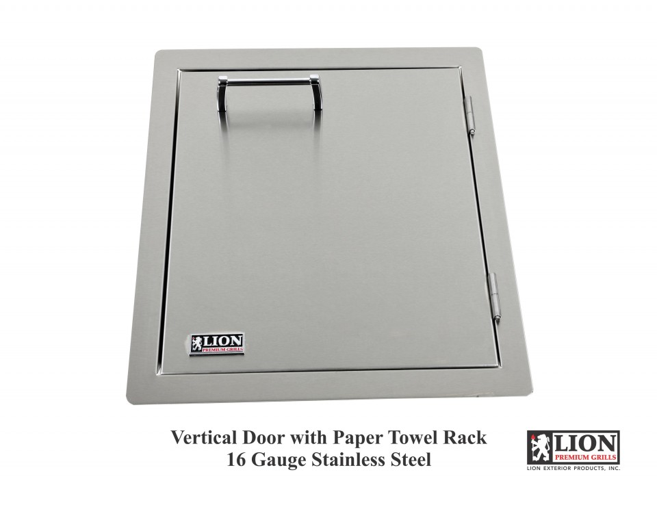 BBQ Island Vertical Access Door