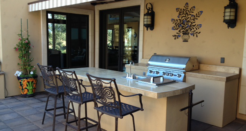 Backyard Overhaul with Lion Premium Grills!