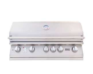 Lion Premium Grills L90000 40-Inch Stainless Steel Built-In Premium Gas Grill