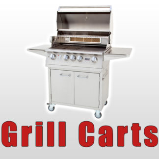 Shop Stainless Steel Gas BBQ Grills on Carts Made By Lion Premium Grills