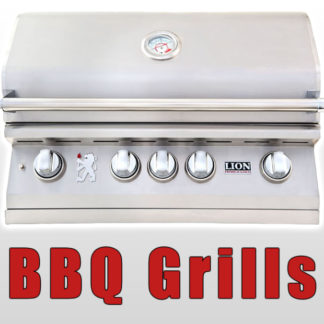 Shop Stainless Steel Gas BBQ Grills Made By Lion Premium Grills