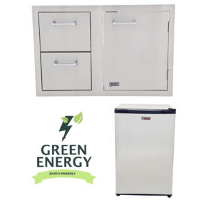 Combination Door/Drawer and Refrigerator Package Deal
