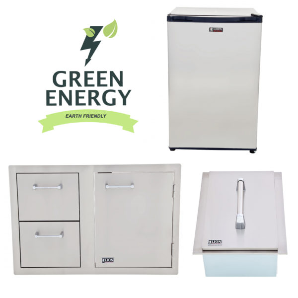 Refrigerator and Door and Drawer Combination and Ice Chest