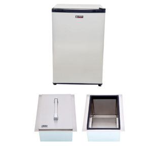 Refrigerator and Ice Chest Package Deal