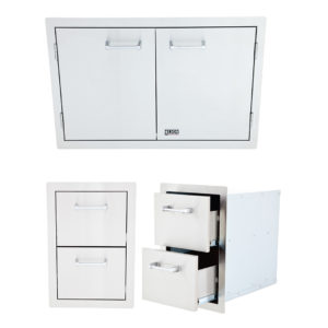 Double Drawer and Double Door Package