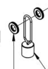4063 Rotisserie Counterweight Washers